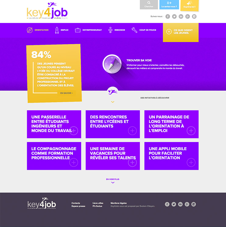 Key4job webdesign lyon